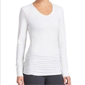 Athleta Ruched Shirt